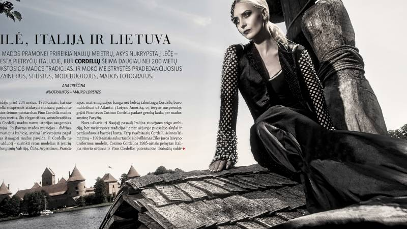 Cordella Fashion School Moteris Magazine