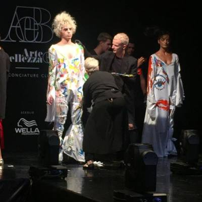 Istituto Cordella Wella Fashion event