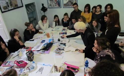 Stage di Costume Design con Chrisi Karvonides • Cordella Fashion School